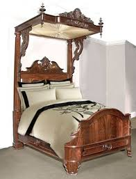 antique canopy bed a very elaborate 19th century victorian bed with canopy still