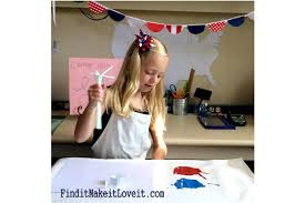 painted fireworks craft for kids find it make it love it