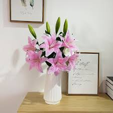 home decor events aliexpress com buy bouquet flower bunch bundle 10 heads lily