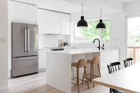 Movable Kitchen Island With Breakfast Bar by Kitchen Bar Amazing White Glossy Contemporary Kitchen Cabinet