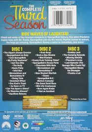 amazon com spongebob squarepants the complete 3rd season tom