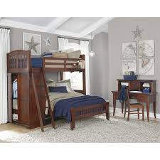 ne kids walnut street morgan platform bed white hayneedle