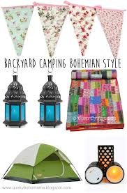 quirky bohemian mama a bohemian mom blog backyard camping