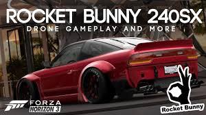 nissan 240sx rocket bunny 1993 rocket bunny nissan 240sx se forza horizon 3 youtube