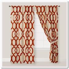 Rust Colored Kitchen Curtains Incredible Rust Colored Curtains And Orange Curtains Rust Pumpkin