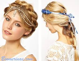 hippie hair accessories hippie hairstyles for weddings or hair boomerinas