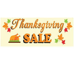 premade black friday sales vinyl banner fulfill your signage