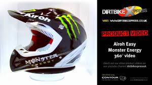 monster energy motocross gear airoh easy monster energy helmet youtube
