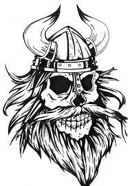 viking viking skull tattoo design by mokheir35 on deviantart