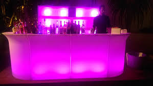 bar rentals led bars led bar stools los angeles partyworks inc