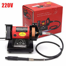 220v 150w micro electric bench grinder wheel polishing tool sale