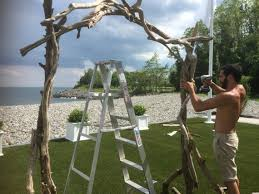 wedding arches branches large driftwood arbor pieces design build your own decorative