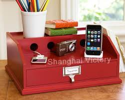 phone charger organizer charging caddy wooden recharging station valet charging station