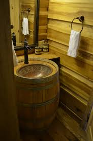 best 25 wine barrel sink bathroom ideas only on pinterest wine