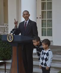 thanksgiving turkey pardon president obama subs in his nephews to pardon his final turkey tot