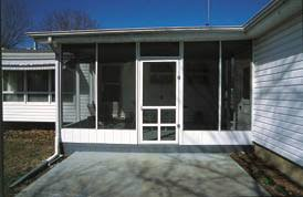 build a screened in porch or patio extreme how to