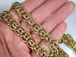 make gold chain bracelet images 36 grams make n offer 18k italian gold chain 42 jpg