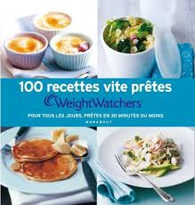 livre de cuisine pour tous les jours livre 100 recettes vite prêtes weight watchers pour tous les
