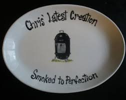 personalized barbecue platter personalized bbq etsy