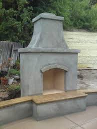 Chiminea Outdoor Fireplace Clay - fireplace diy prefab outdoor fireplace for your outdoor