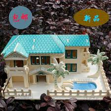 3d wooden model diy puzzle toy baby birthday gift hand work