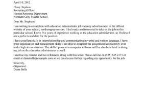 Executive Cover Letter Best Executive Assistant Cover Letter Gallery Cover Letter Ideas