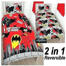 Batman Double Duvet Cover Superhero Duvet Cover Set Lego Dc Superheroes Batman Kapow Single