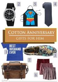 2nd anniversary gift ideas for husband cotton 2nd anniversary gifts for him anniversary gifts
