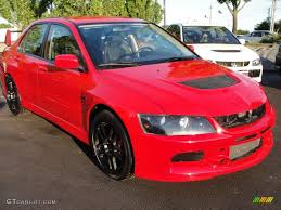 mitsubishi evolution 2006 2006 rally red mitsubishi lancer evolution ix 29762663 gtcarlot