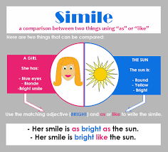 simile definition and examples literaryterms net