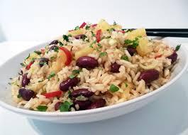 cuisine salade salade de riz à l ananas la recette facile par toqués 2 cuisine