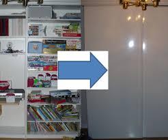 Sliding Door Dvd Cabinet Sliding Doors For Large Shelving Units 6 Steps