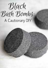black bath bombs a cautionary diy soap queen