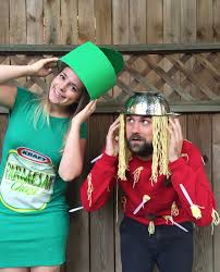 creative couples halloween costume ideas our halloween costumes spaghetti u0026 parmesan cheese the surznick
