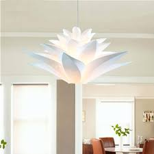 Flower Pendant Light Modern Lily Flowers Pendant Lights Kitchen Lighting Lotus Lamp