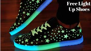 light up sneakers light up shoes at mall youtube