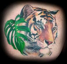 custom tiger back in progression by haylo tattoos