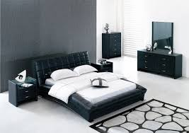 Bedroom Design Appealing King Size Bedroom Furniture Sets With - White tufted leather bedroom set