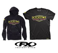 rockstar motocross helmets fx rockstar energy vegas 2 piece men apparel t shirt hoody combo
