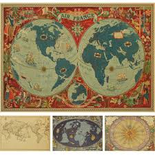 Vintage Maps Online Get Cheap Vintage Map Paper Diy Aliexpress Com Alibaba Group