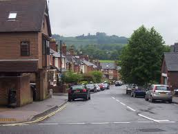 which side does st go on file dorking side street jpg wikimedia commons