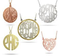 Monogram Jewlery History Of The Monogram Evesaddiction Com Jewelry Blog