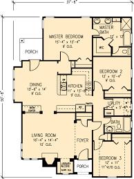 bungalow cottage craftsman house plan 95713 bungalow craftsman