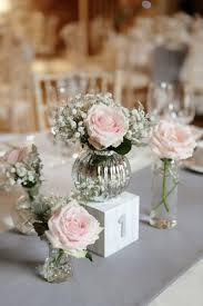stylish simple flower arrangements for wedding tables simple