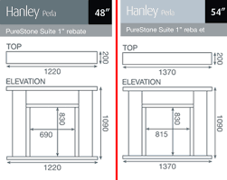 Standard Fireplace Dimensions by Pureglow Hanley Marble Fireplace Hotprice Co Uk