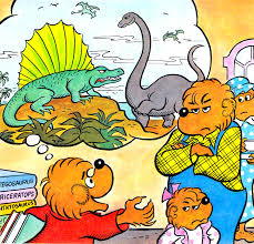 Berenstien Bears Episode 37 U2013 The Berenstain Bears And The Dinosaurs Deep In