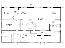 the timberridge elite 5g42684a manufactured home floor plan or