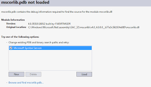 No Symbol Table Is Loaded Use The File Command Visual Studio 2012