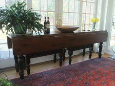 Drop Leaf Console Table A Modern Drop Leaf Expandable Console Table That Converts Into A