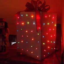 make a light up present pegsgottado